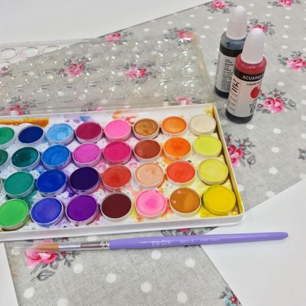 Risas, color y tinta