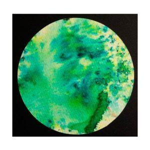 brusho leaf green