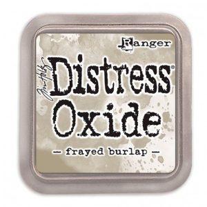 tintas distress oxide frayed burlap ranger
