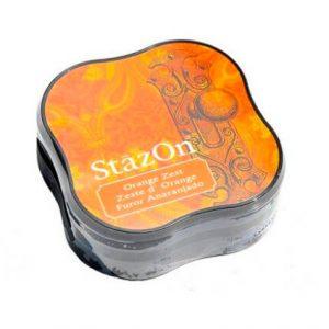 tintas stazon midi orange zest