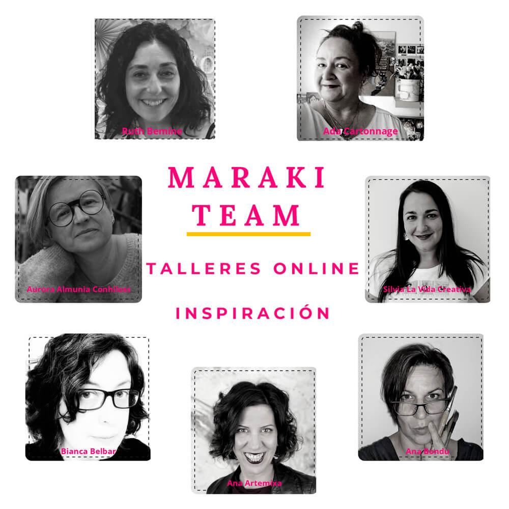 profesoras academia online Maraki