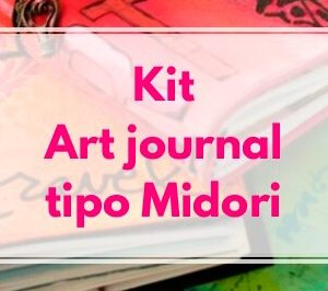 kit art journal tipo midori