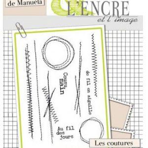 Sello Acrílico Les Coutures