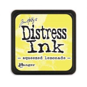 mini distress ink squeezed lemonade