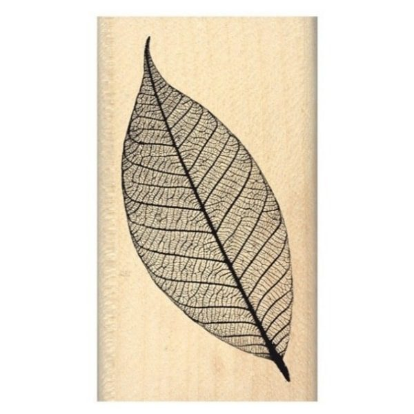 sello de madera feuille legere