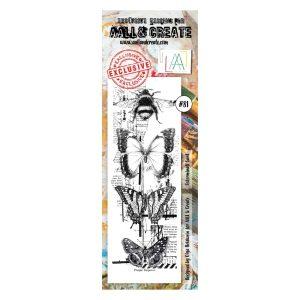 sello acrílico aall and create 81