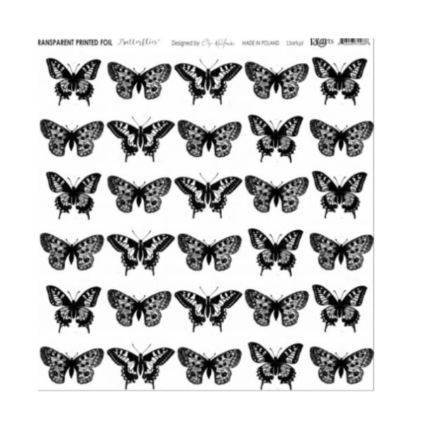 Acetato estampado Butterflies