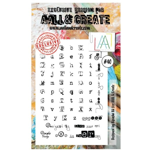 Sello Acrílico All and Create 40