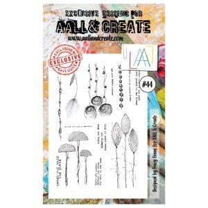 Sello Acrílico Aall and Create 44