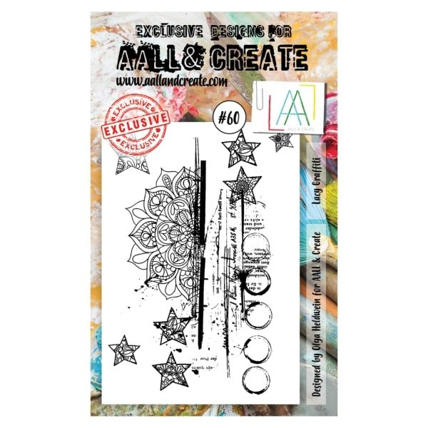 Sello Acrílico Aall and Create 60
