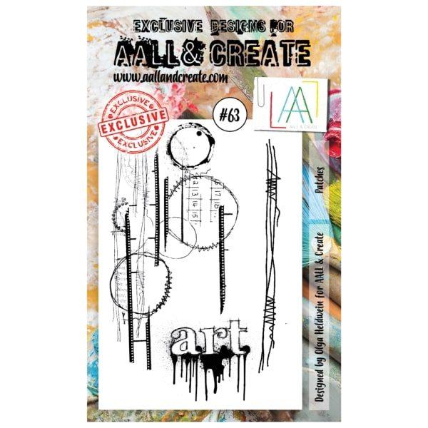 Sello Acrílico Aall and Create 63