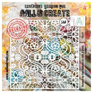 Stencil Aall and Create 54