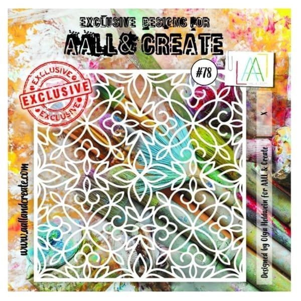 Stencil Aall and Create 78