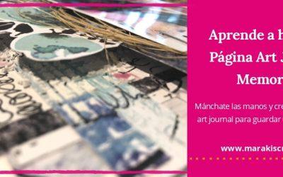 Aprende a hacer la Página Art Journal Memories
