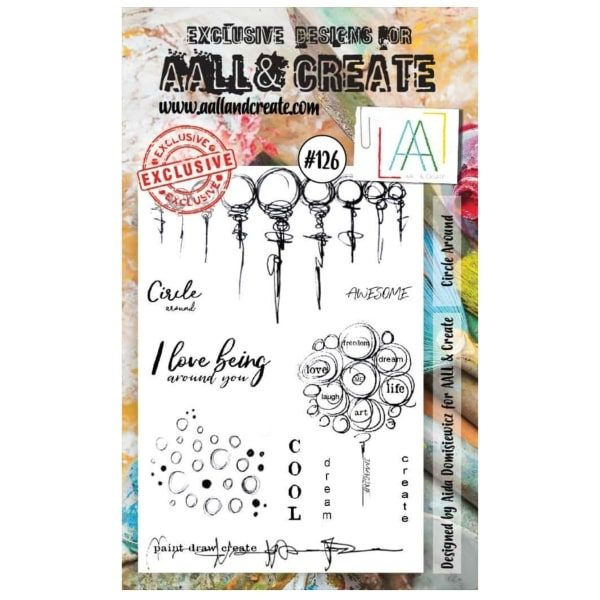 Sello Acrílico Aall and Create 126