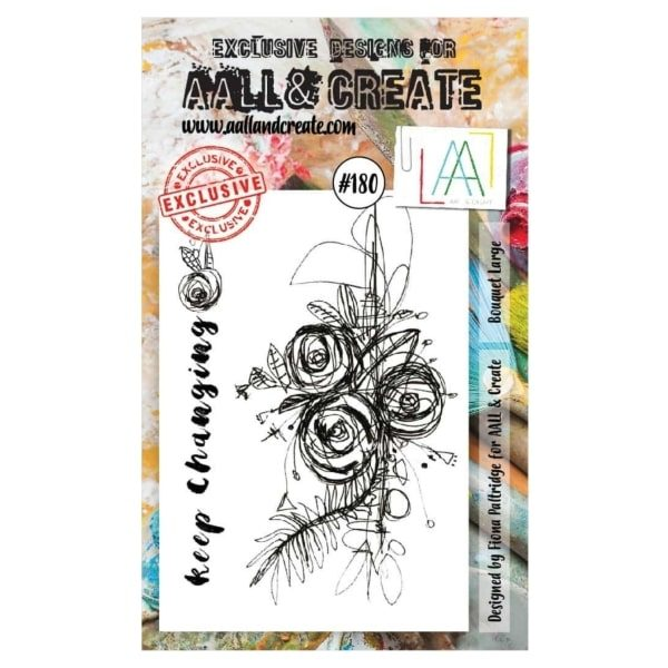 Sello Acrílico Aall and Create 180