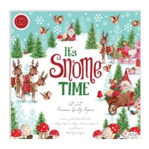 Colección Premium de papeles It's Snome Time