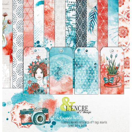 Colección de papeles l'echappee belle