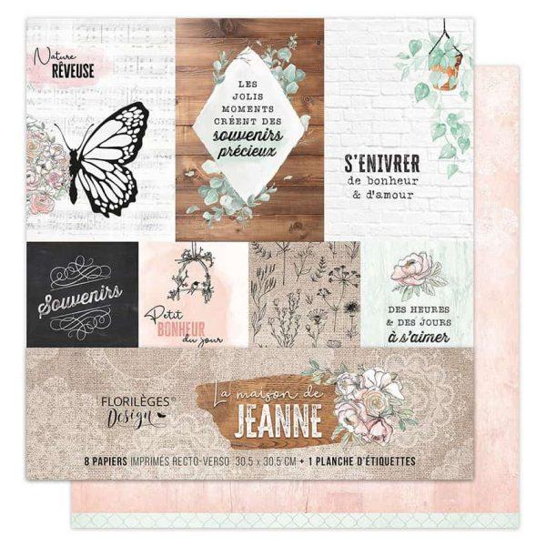 Colección de papeles la maison de Jeanne