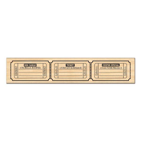 Sello-de-madera-tickets