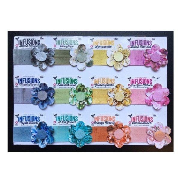 Infusions colorantes pigmentos en polvo