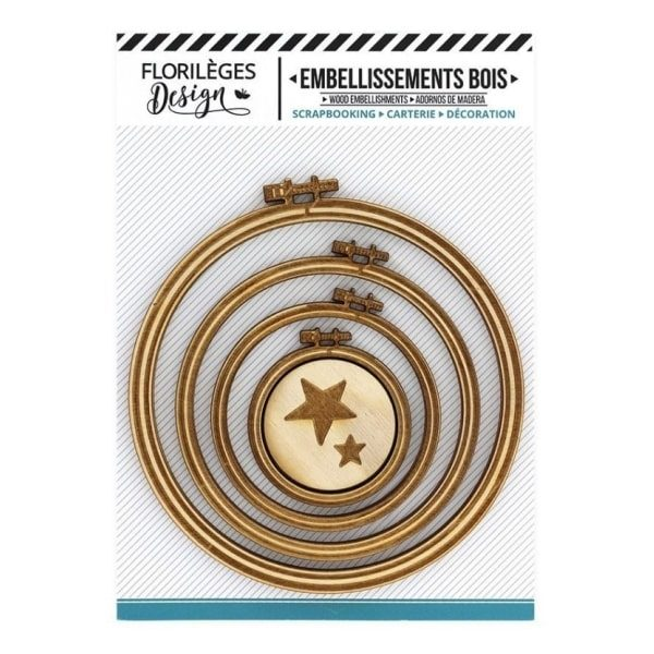 Kit de chipboards bastidores circulares