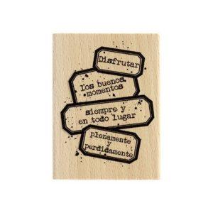 Sello madera Aprovecha a tope