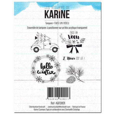 Sello Hello Winter Karine