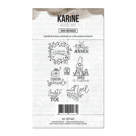 Sello woodland doux messages