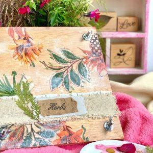 Kit y taller prensa de flores