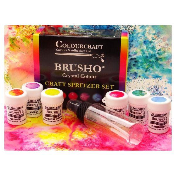 Brushos pack de 6 colores