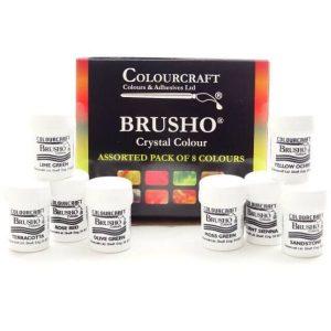 Brushos pack de 8 colores