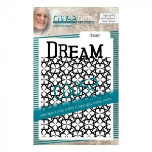 Sello de fondo acrilico dream coosa crafts