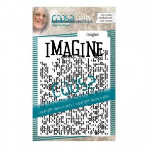 Sello de fondo acrilico imagine coosa crafts