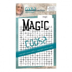 Sello de fondo acrilico magic coosa crafts