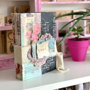 Talleres de scrapbooking online mini album good life