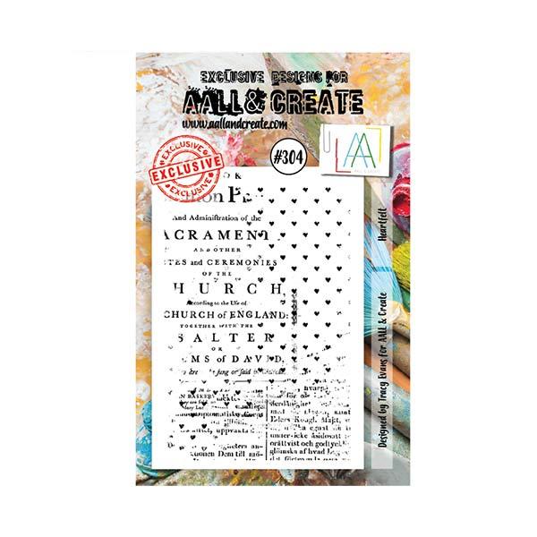 Sello acrílico A7 Aall and create 304 | MarakiScrap.com