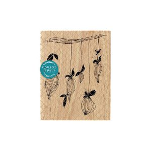 Sello de madera Florilèges Design modelo Boutons suspendus | MarakiScrap.com