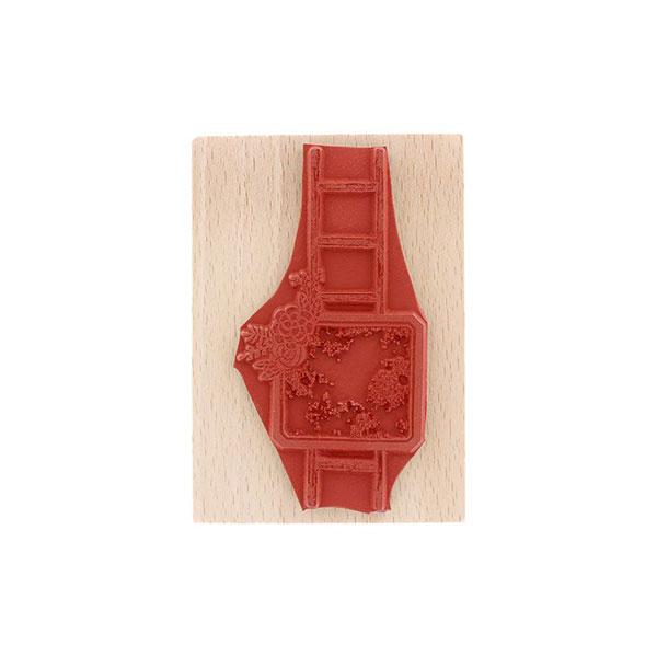 Sello de madera Florilèges Design modelo Échelle fleurie | MarakiScrap.com