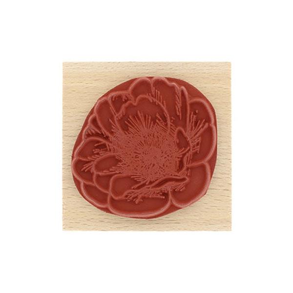 Sello de madera Florilèges Design Fleur éclose | MarakiScrap.com
