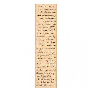 Sello de madera Florilèges Design modelo Fond manuscrit | MarakiScrap.com