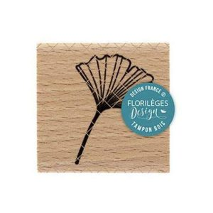 Sello de madera Florilèges Design modelo Ginkgo | MarakiScrap.com