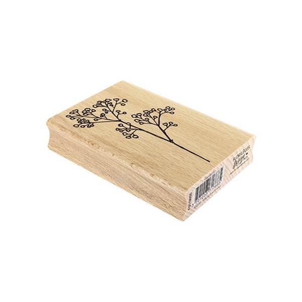 Sello de madera Florilèges Design modelo Gypsophile | MarakiScrap.com