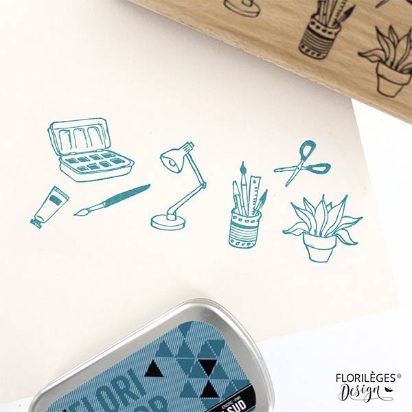 sello de madera florileges design moments creatifs 4
