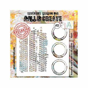 Stencil Aall and Create 22 | MarakiScrap.com