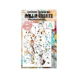 Stencil Aall and Create 35 | MarakiScrap.com