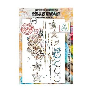 Stencil Aall and Create 49 | MarakiScrap.com
