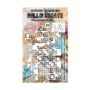 Stencil Aall and Create 59 | MarakiScrap.com
