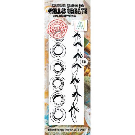 Aall and create stamp set 34