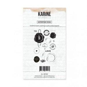 Sello acrílico Authentique sceau Les Ateliers de Karine Intemporelle | Marakiscrap